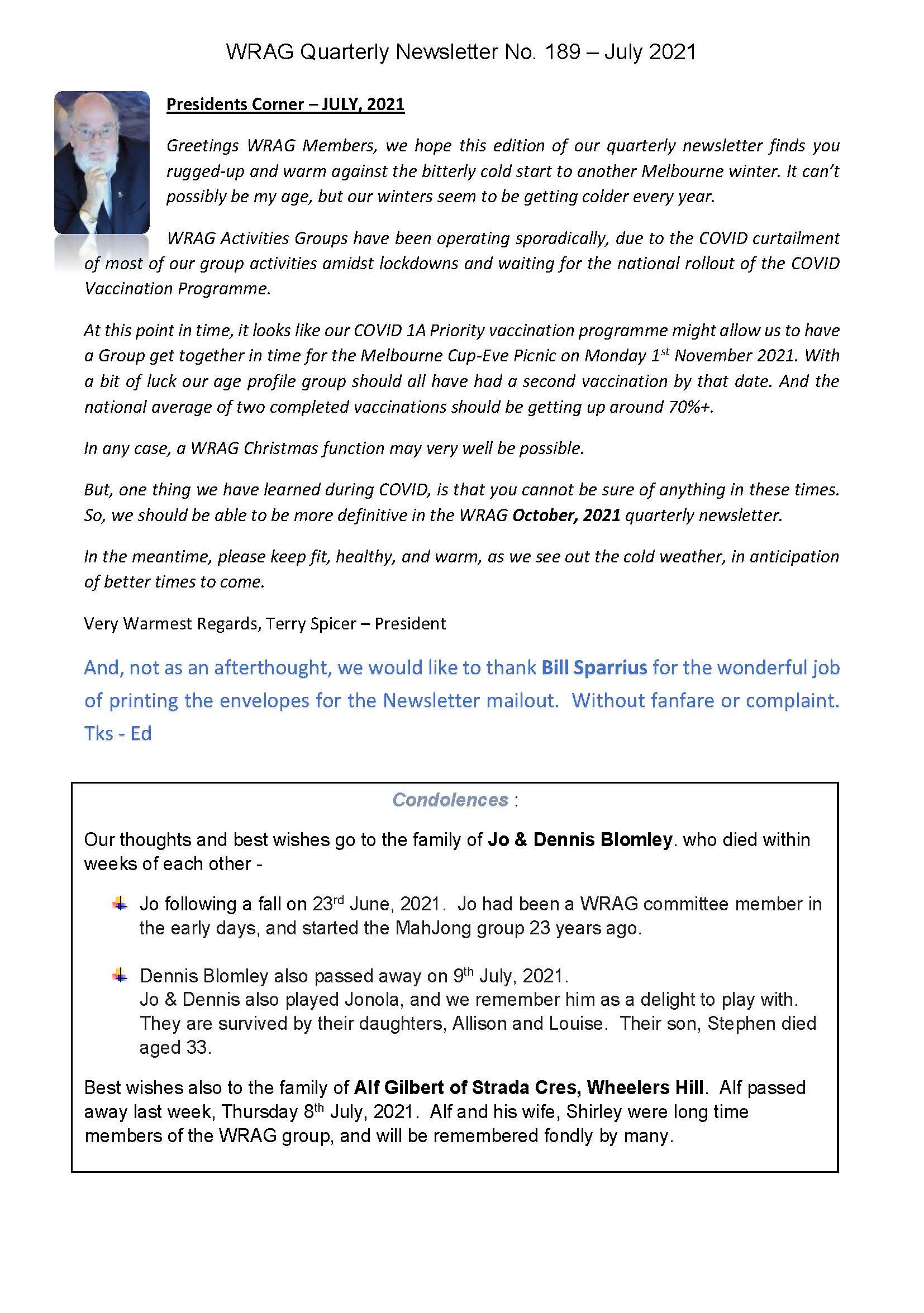 WRAG Newsletter No. 189 July 2021_Page_1